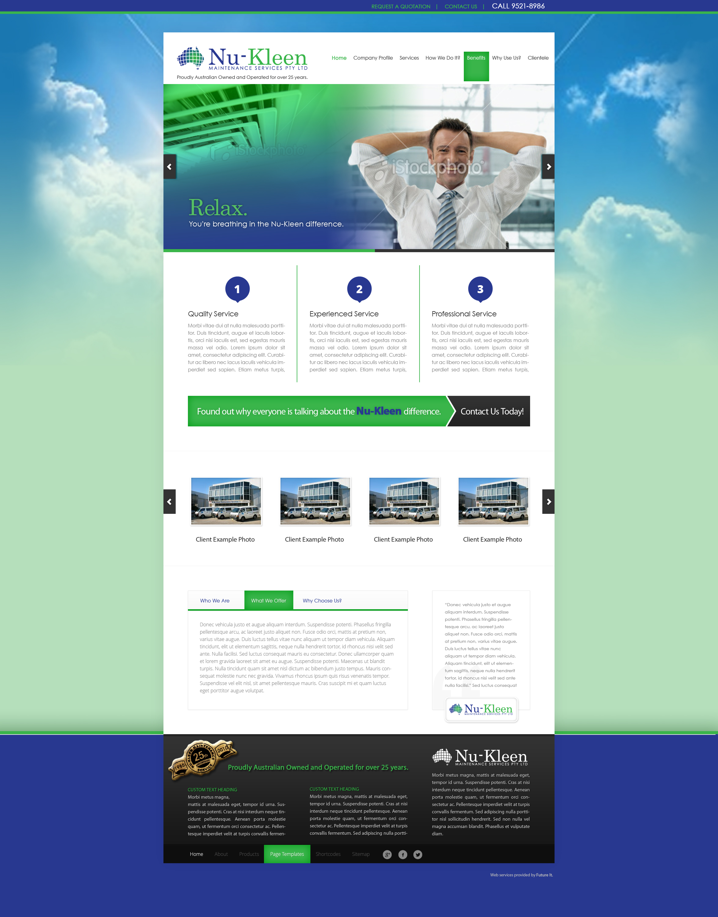 NuKleen_wordpress-website-development
