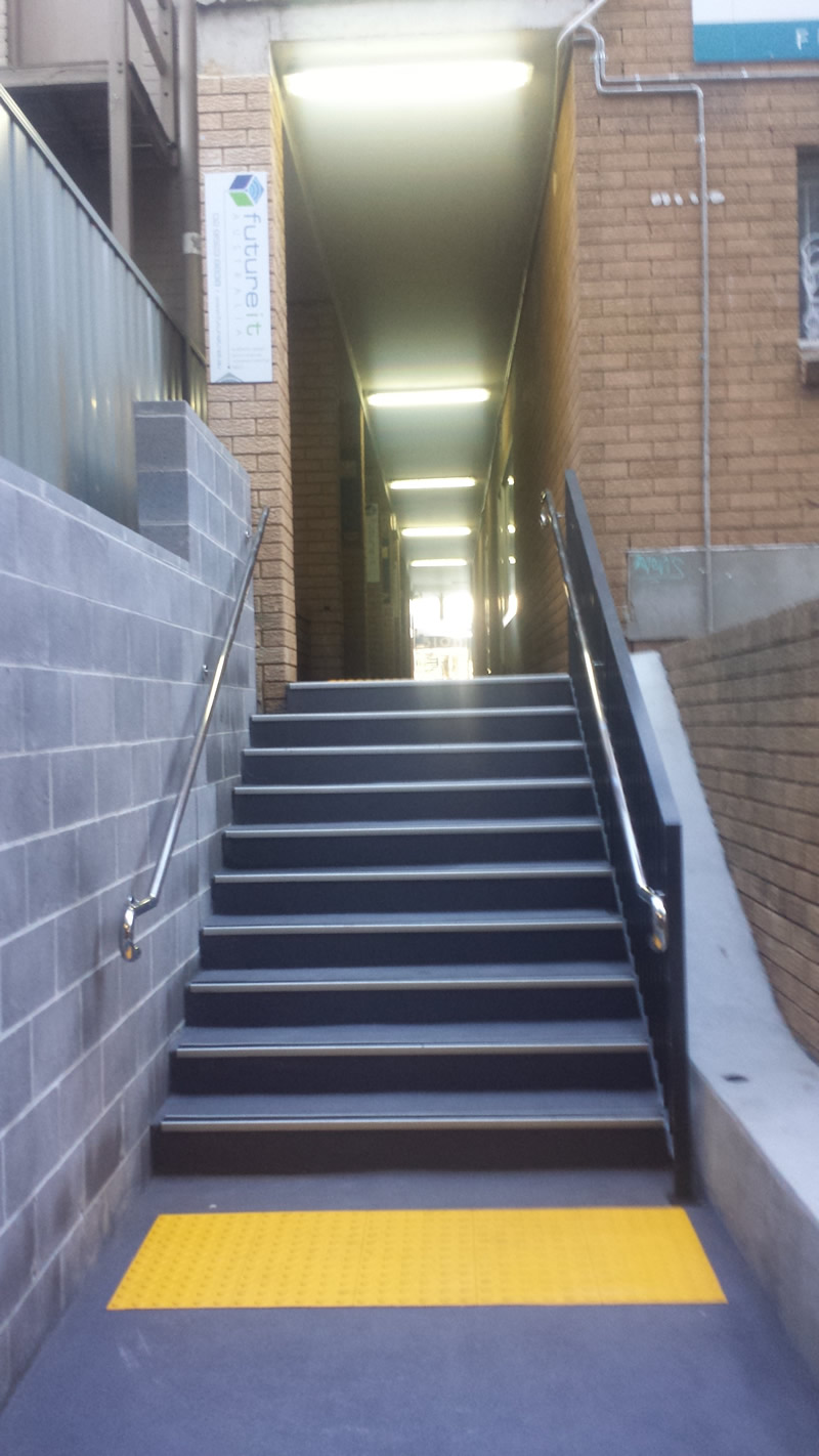 New Access from Corydon Street Carpark to Cronulla Mall near Future IT